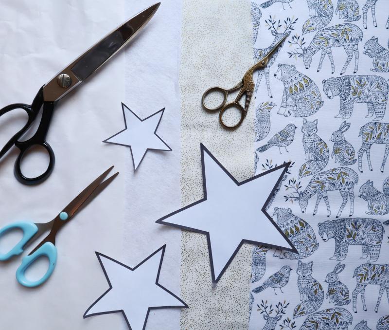 Stars make fabrics