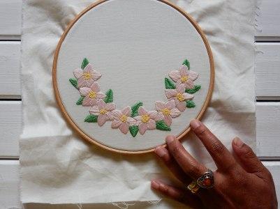 Blossom wreath 3 layers DSCN6064