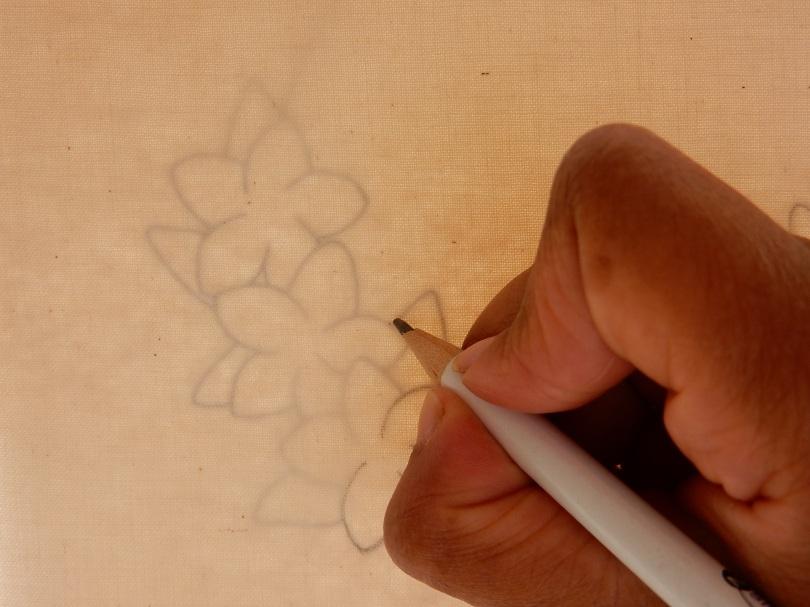 Blossom wreath tracing design 2 DSCN5693