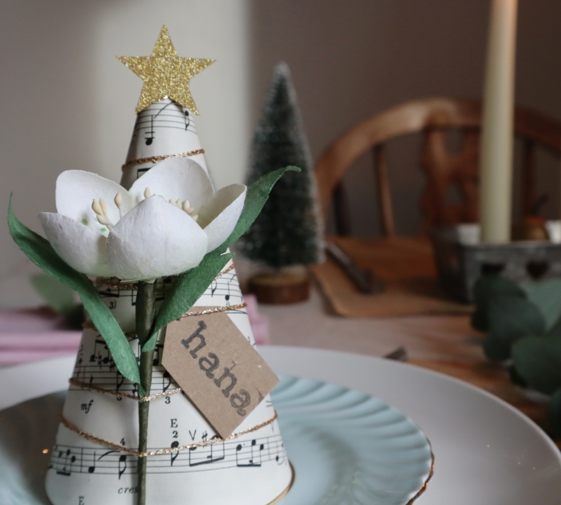 Paper tree on table 6