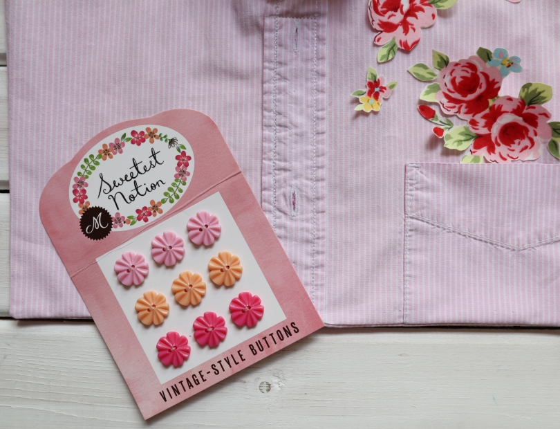 Peg bag buttons