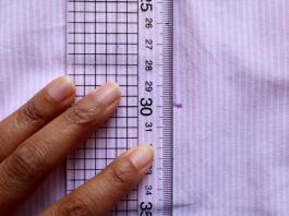 Peg bag measuring 30cm