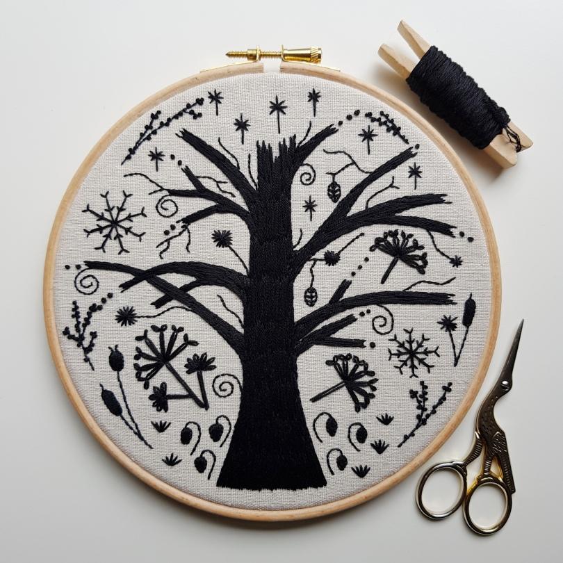 A Winter Doodle complete 1