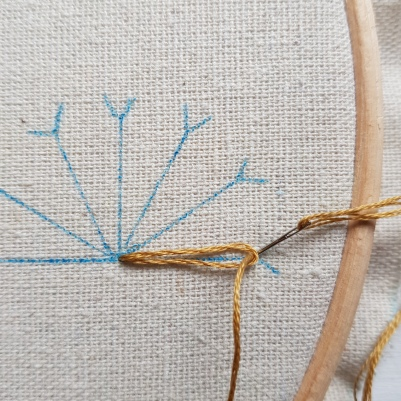 Lazy Daisy Stitch 3