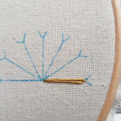 Lazy Daisy Stitch 4
